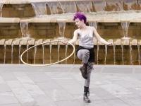 Hoop girl Kay Dent